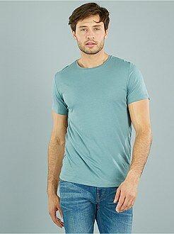 Effen jersey T-shirt