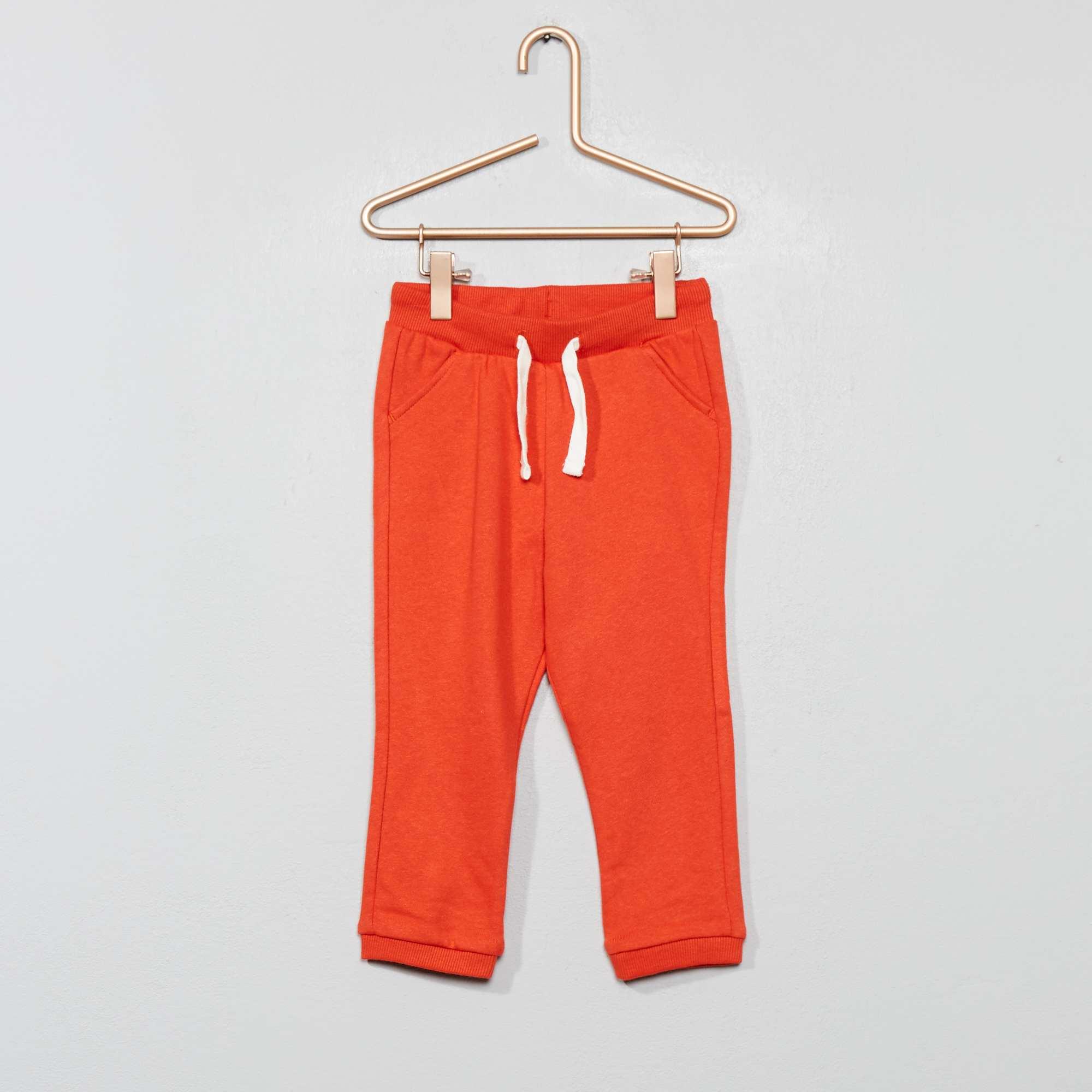 Joggingbroek Voor Jongens.Effen Joggingbroek Jongens Babykleding Lichtoranje Kiabi 4 00