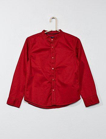 Effen, katoenen overhemd - Kiabi
