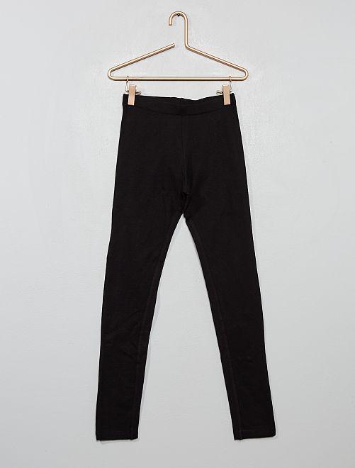 Effen legging stretch                             zwart