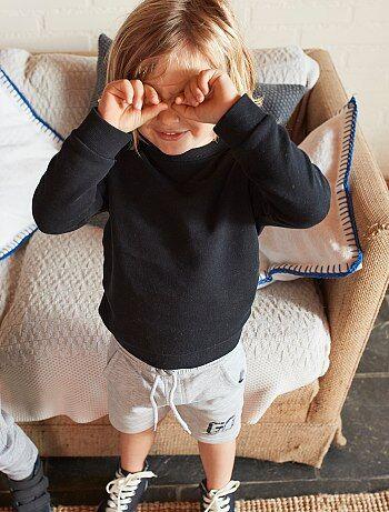 Effen sweater van joggingstof - Kiabi