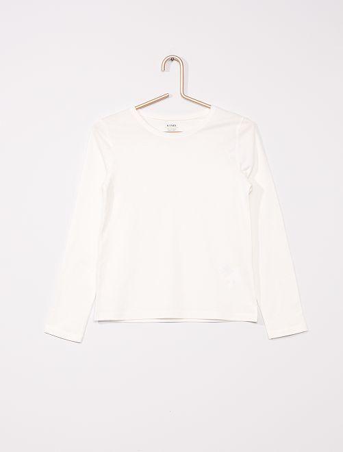 Effen T-shirt 'Ecodesign'                                 sneeuw wit