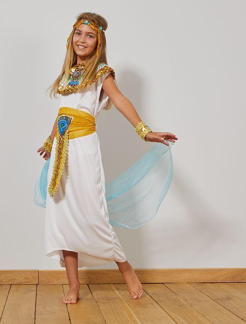 Egyptisch verkleedkostuum                             WIT