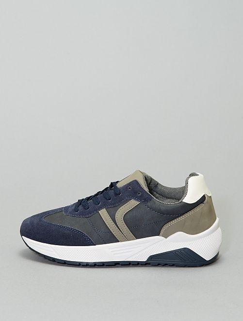 Elegante sneakers                             marineblauw