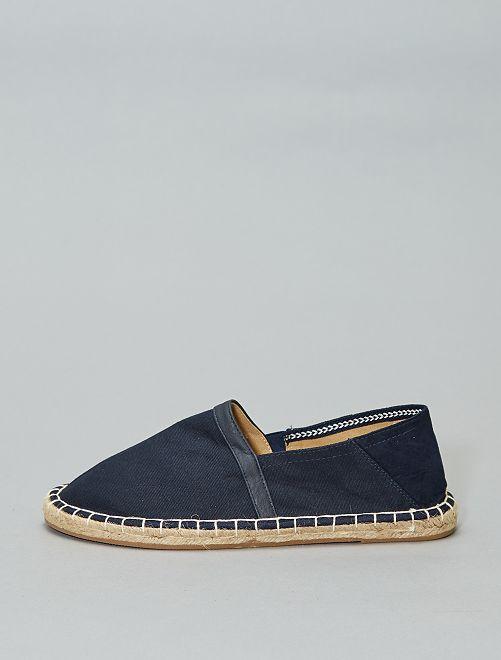Espadrilles met elastiek                                 marineblauw Schoenen