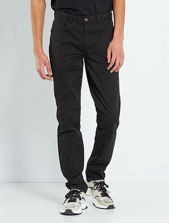 Fitted 5-pocket broek L36 voor 1,90 m+ - Kiabi