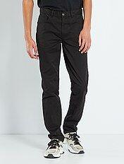 Fitted 5-pocket broek L36 voor 1,90 m+