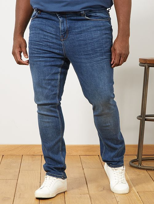 Fitted jeans                             WIT Herenmode grote maten