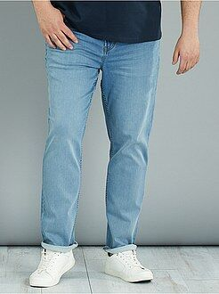 Jeans - Fitted stretch joggjeans - Kiabi