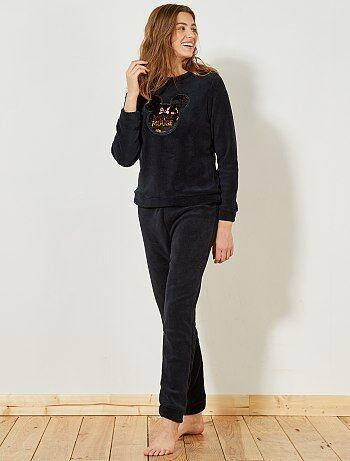 Fleece pyjama van 'Minnie' - Kiabi