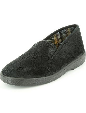 Fluwelen pantoffels - Kiabi
