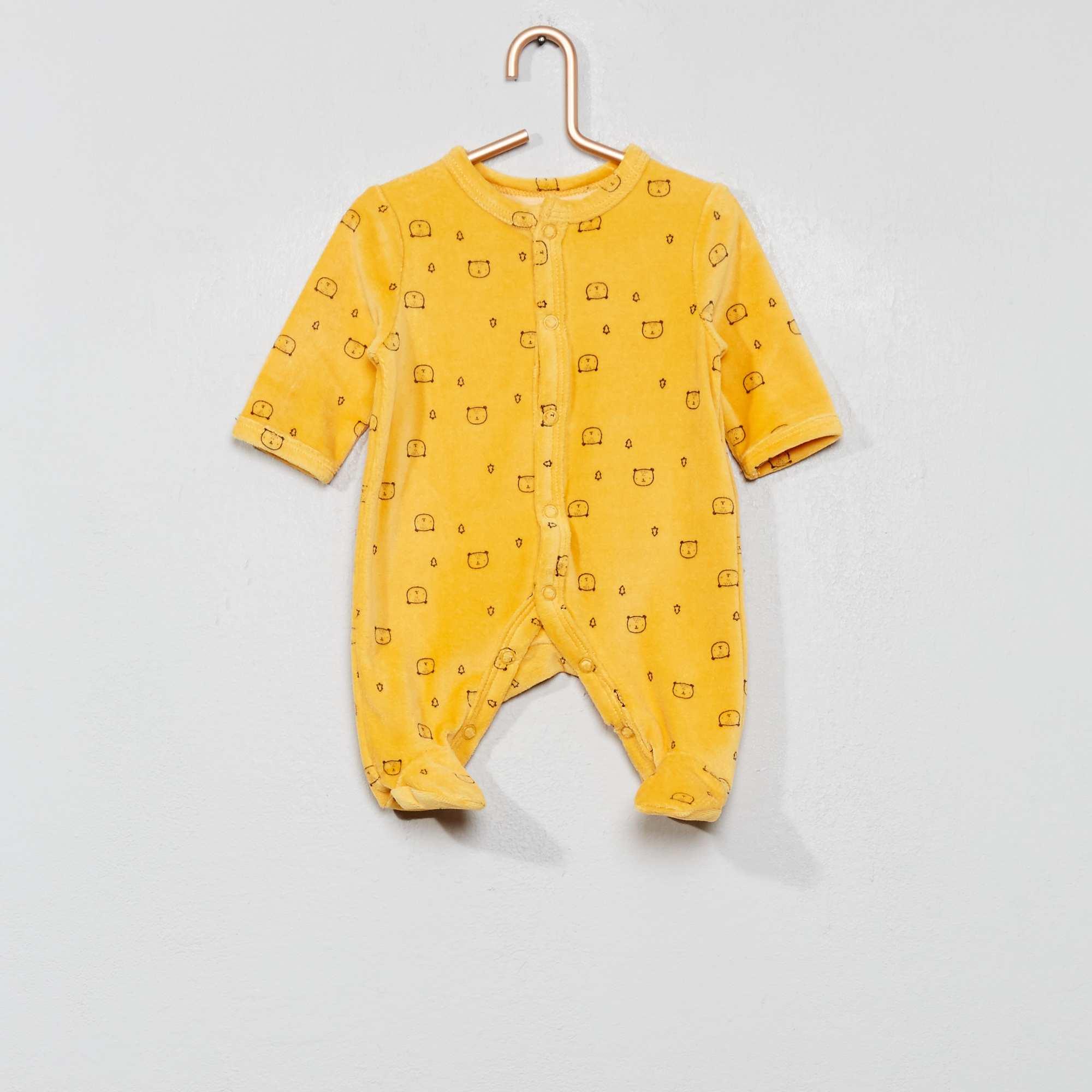 bf503a961b0 Fluwelen pyjama 'beer'