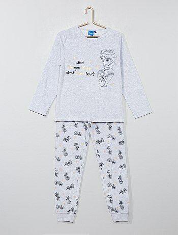 Fluwelen pyjama van 'Frozen' - Kiabi