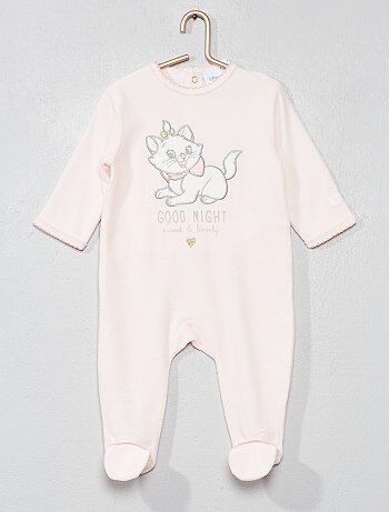 Fluwelen pyjama van 'Marie' - Kiabi