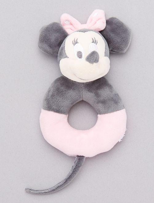 Fluwelen rammelaar van 'Minnie Mouse'                             ROSE
