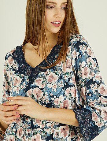 Gebloemde jurk van 'Jacqueline de Yong' - Kiabi