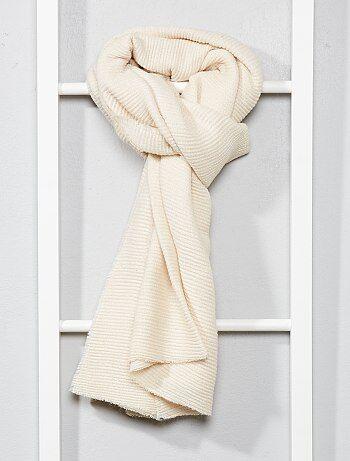 Geplooide sjaal met glansdraad - Kiabi