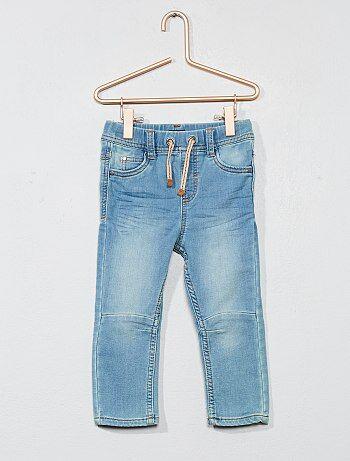 Geplooide stretch jeans - Kiabi