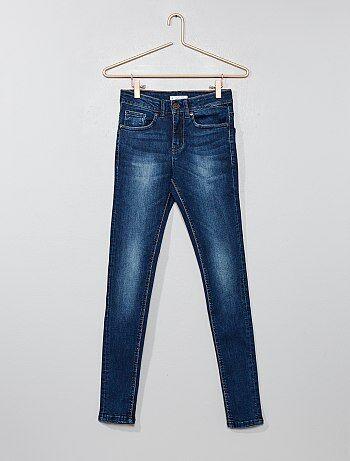 Geplooide super skinny jeans - Kiabi