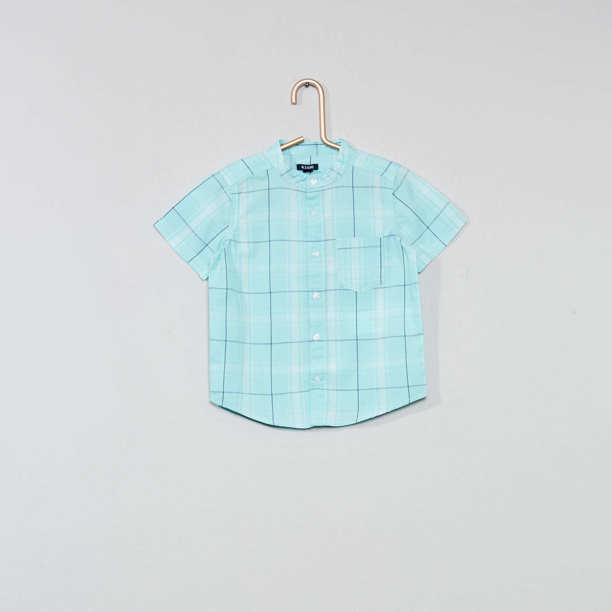Groen Geruit Overhemd.Geruit Overhemd Jongens Babykleding Groen Kiabi 4 20