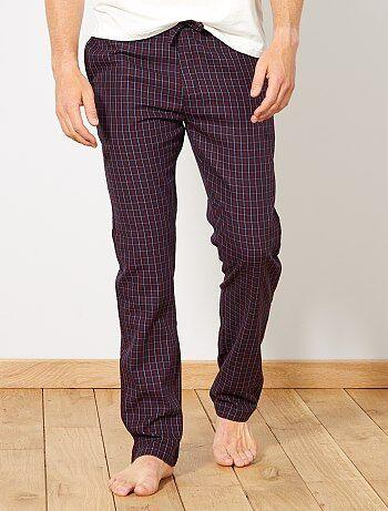 Geruite pyjamabroek - Kiabi