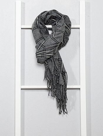 Geruite sjaal - Kiabi