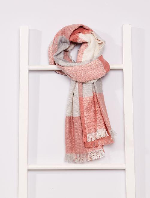 Geruite sjaal                             ROSE