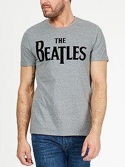 T-shirt - Gestippeld T-shirt van 'The Beatles'