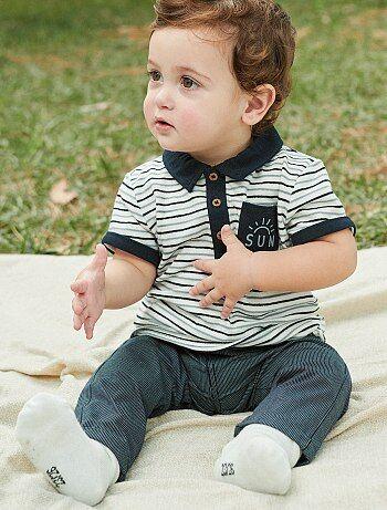Babykleding Jongen Maat 62.Broek Jeans Maat 62 Kiabi
