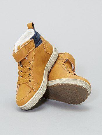 Gevoerde laarsjes in sneakerstijl - Kiabi