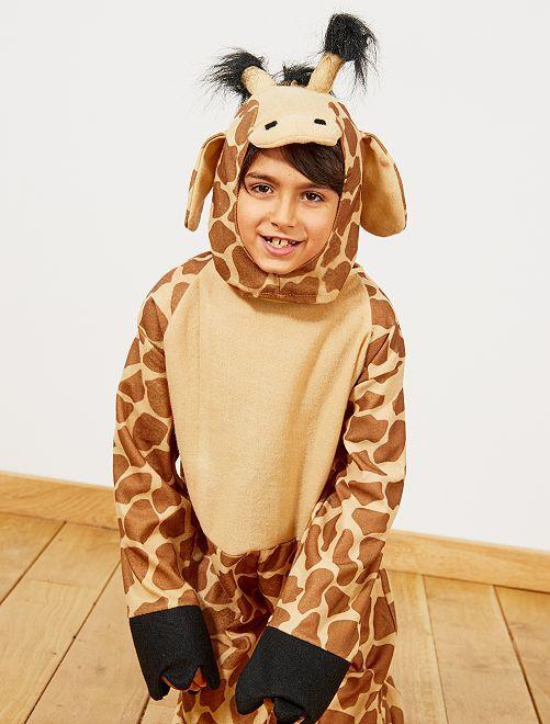 Giraf-verkleedkostuum                             bruin Kinderen