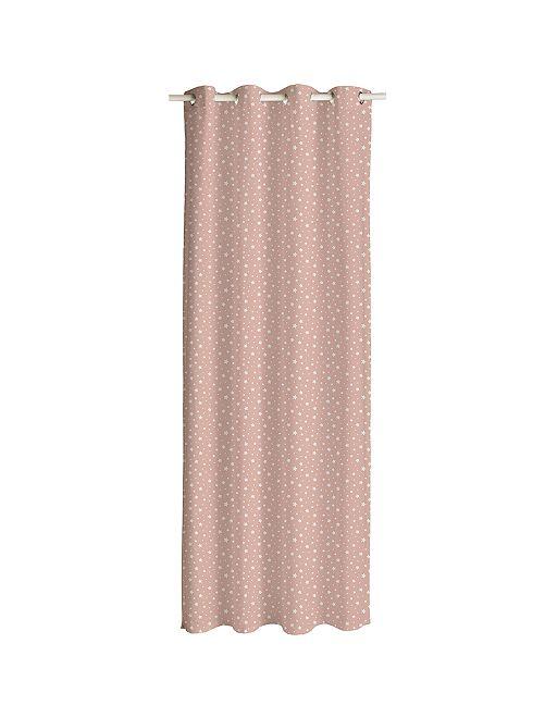 Gordijn met sterrenprint                                                                 roze