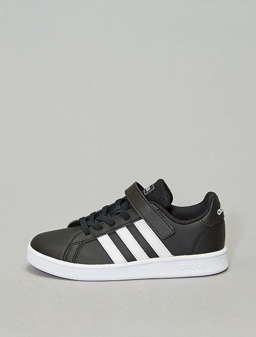 'Grand Court C'-sneakers van 'Adidas'                             ZWART