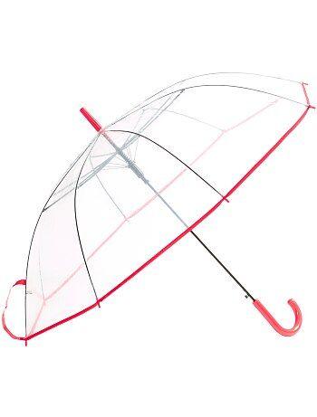 Grote, transparante paraplu - Kiabi