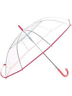 Damesmode maat 34-48 Grote, transparante paraplu