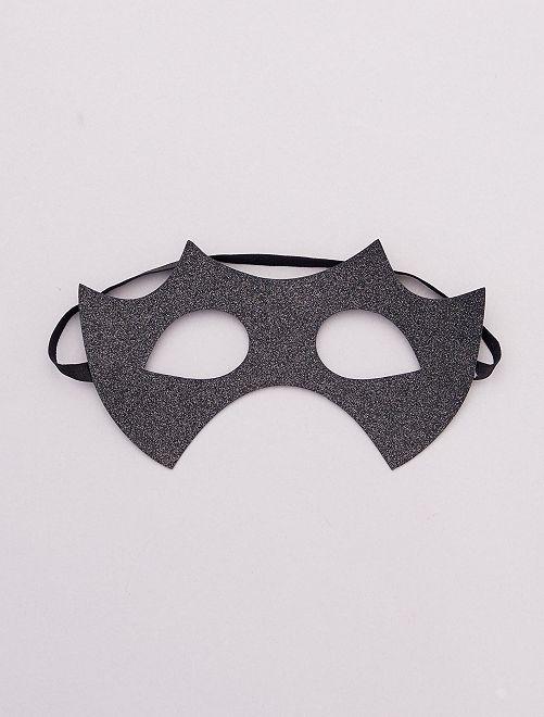 Halloween-masker                             zwart