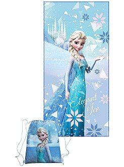 Kinder tassen - Handdoek en zwemtas van 'Frozen' - Kiabi