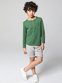 Jongenskleding 3-12 jaar Harembermuda van katoen