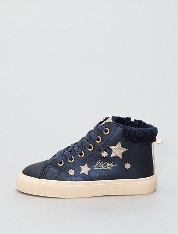 Schoenen - Hoge, gevoerde sneakers - Kiabi