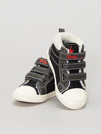 Jongenskleding 3-12 jaar - Hoge, gevoerde sneakers - Kiabi