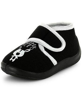 Hoge pantoffels met klittenbandje 'little hero' - Kiabi