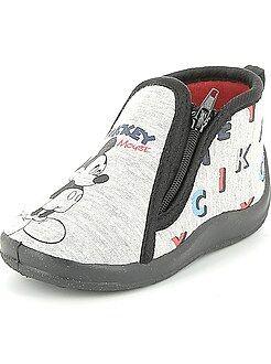 Hoge pantoffels van 'Mickey'