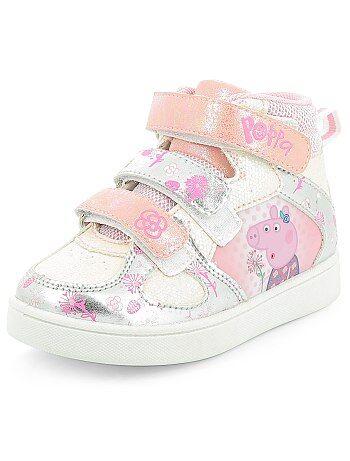 Hoge sneakers van 'Peppa Pig' - Kiabi