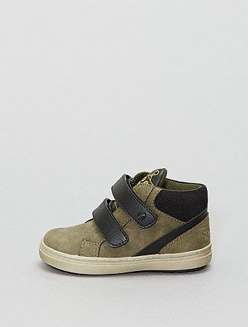 Hoge sneakers van suèdine - Kiabi