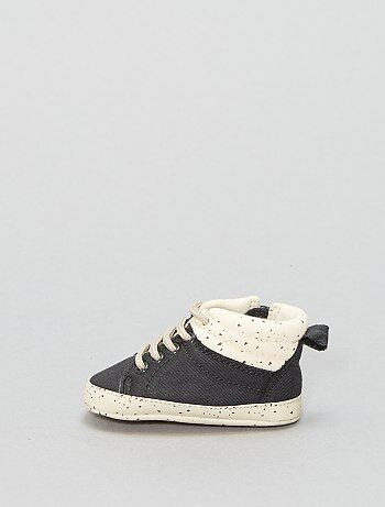 Hoge stoffen sneakers - Kiabi