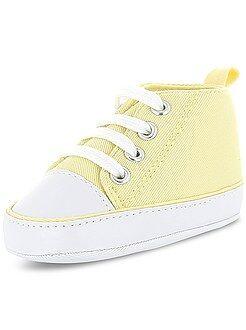 Schoenen - Hoge stoffen sneakers