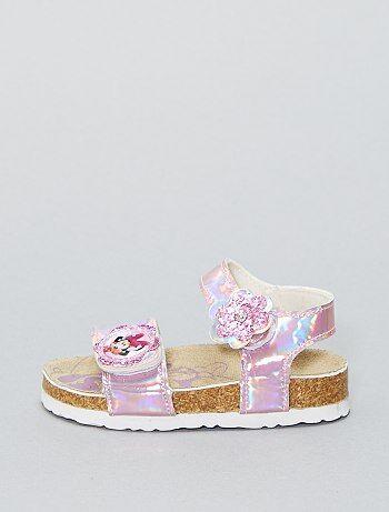 Imitatieleren sandalen van 'Minnie Mouse' van 'Disney' - Kiabi