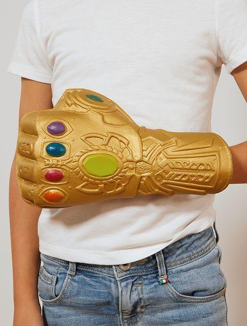 'Infinity Gauntlet' van 'Thanos'                             goudkleur