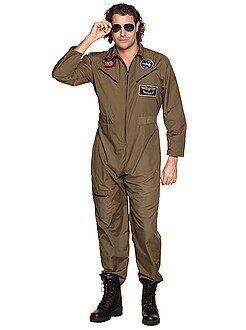 Heren verkleedkleding - Jachtvliegerskostuum - Kiabi