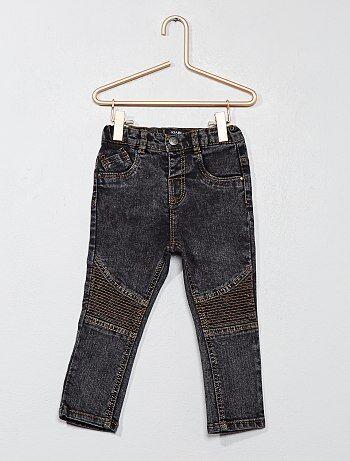 Jeans in bikerstijl - Kiabi